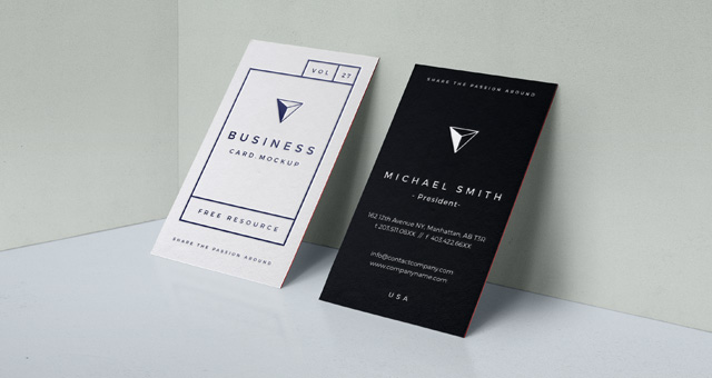 business card presentation template psd - 30 free psd mockup templates 2018 pixlov