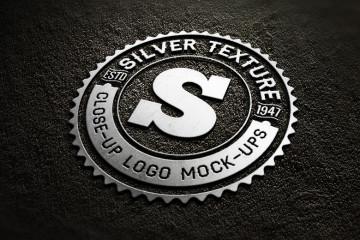metal-logo-mockup-psd-free
