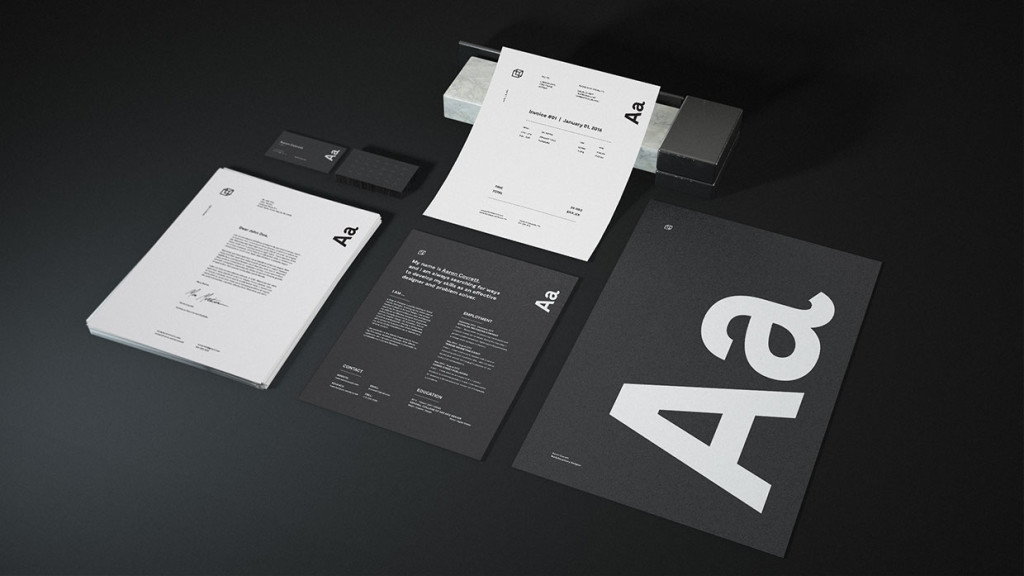 Granite Stationary mockup