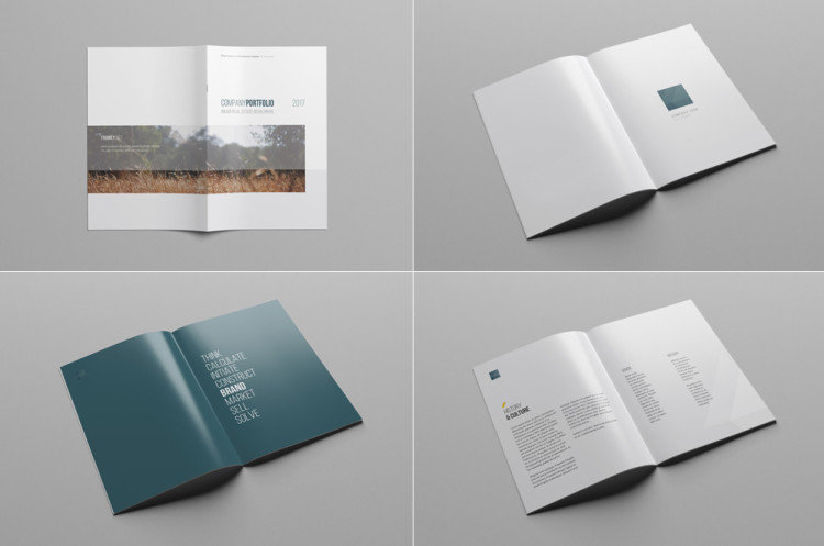 mockup cover book template free download