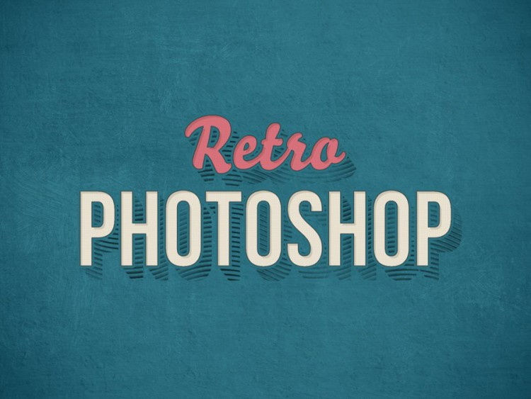 Vintage-Photoshop-Text-Effect-PSD