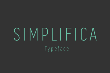 Simple free font download