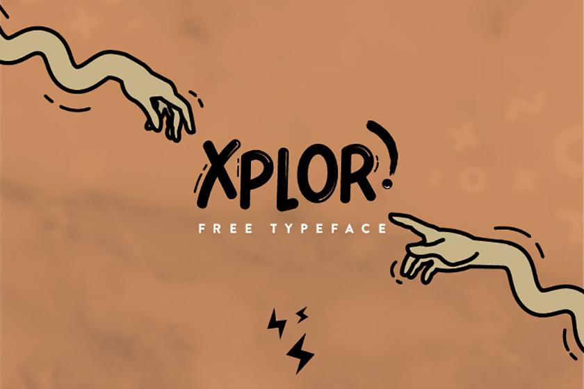 XPLOR-free-font
