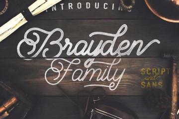 Brayden Family-free-font