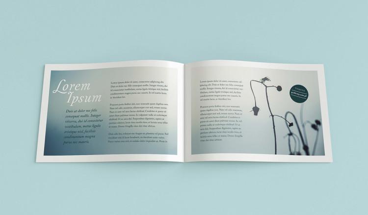 Free Landscape Brochure Psd Mockup | Pixlov