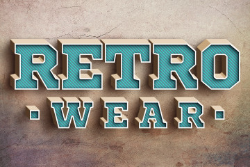 3d-retro-text-effect
