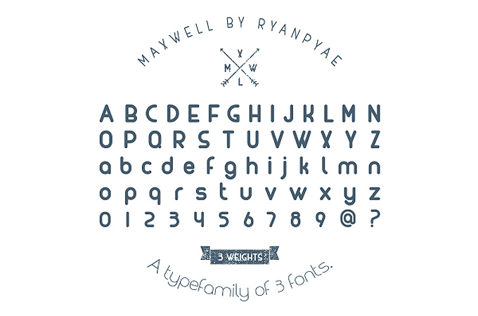 Maxwell Free Typeface