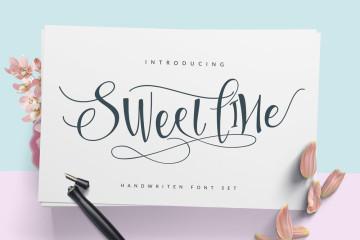 Sweetline-free-Typeface