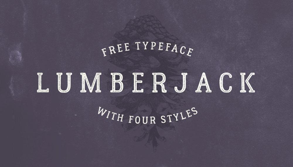 lumberjack-free-font
