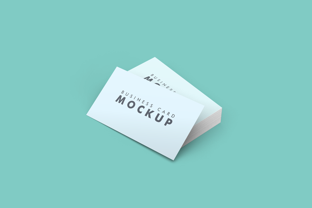 Clean Business Card Mockup Pixlov