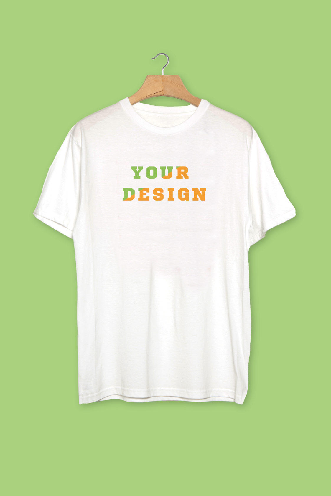 Realistic t shirt psd mockup template for White t shirt mockup