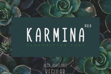 karmina-bold-free-font