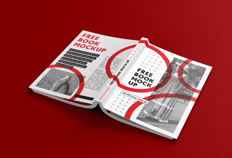 Free book mockups