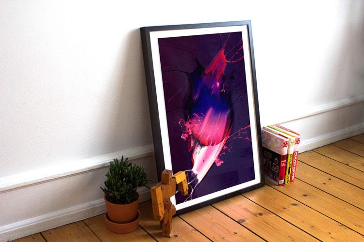 Free Poster/Frame Mockup
