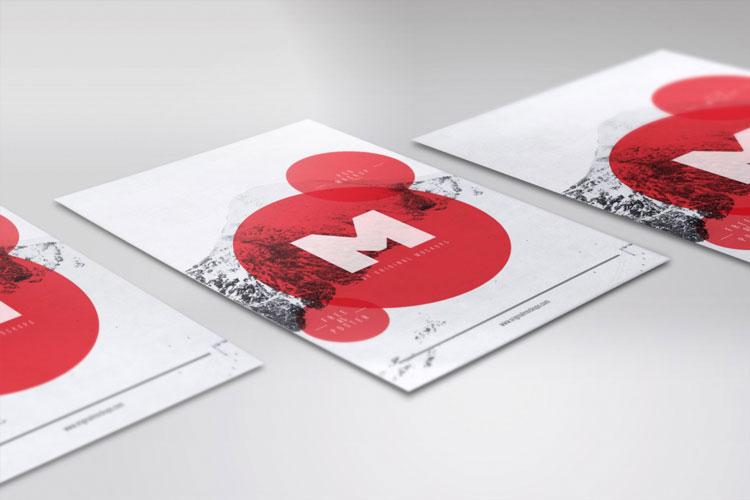 Flyer / Poster PSD Mockup 02