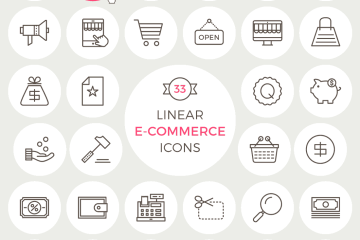 linear-e-commerce-icons