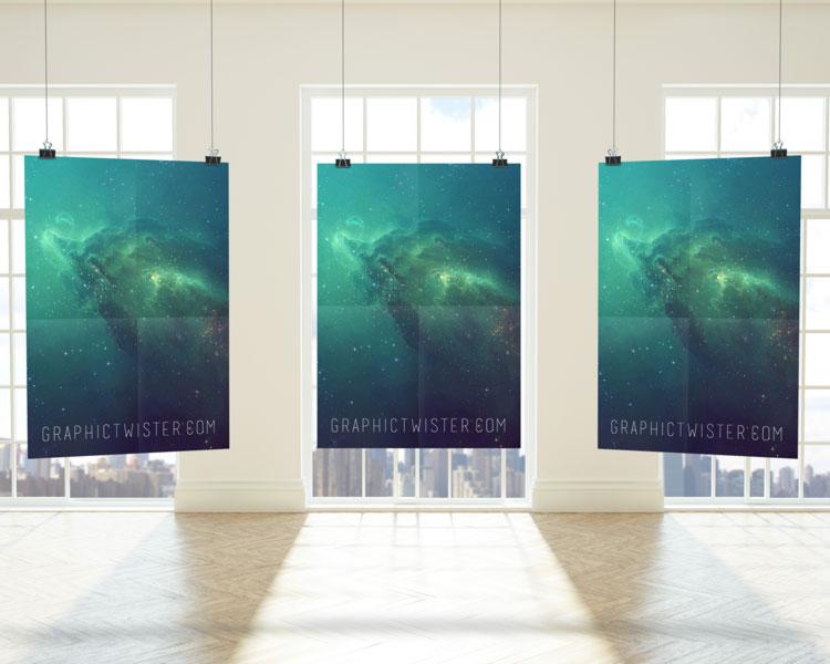 Premium Triple Poster Frame