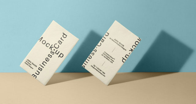 Psd Business Card Mock Up Vol33