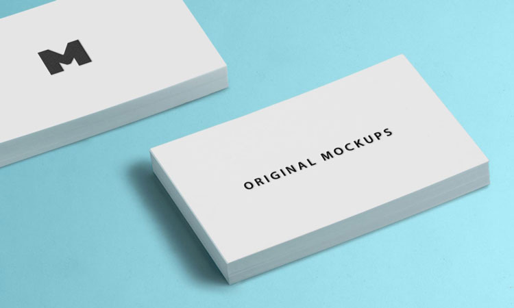 55 free business card psd mockup templates 2018 pixlov business card mockup 03 cheaphphosting Image collections