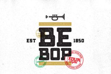 Bebop Slab Free typeface