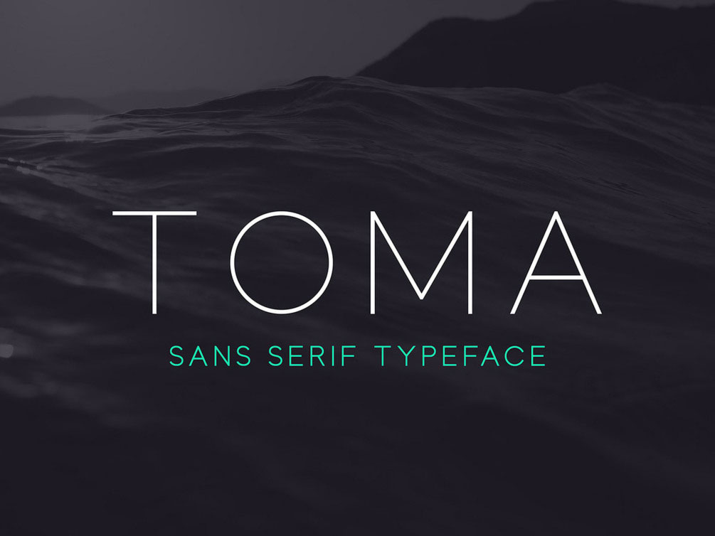Toma Sans Free Typeface