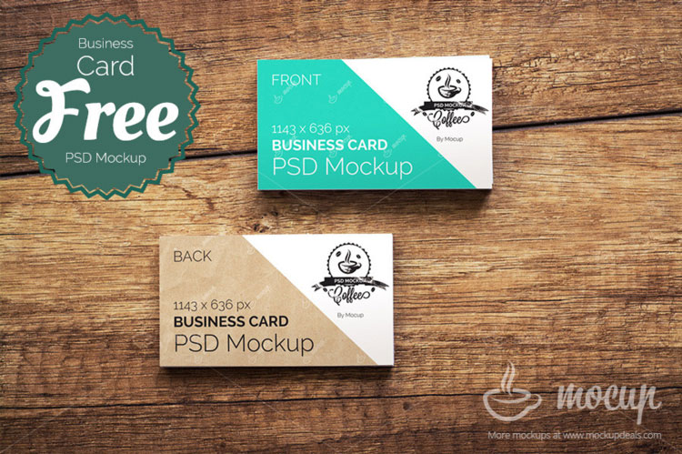 55 free business card psd mockup templates 2018 pixlov free ci business card mockup reheart Choice Image