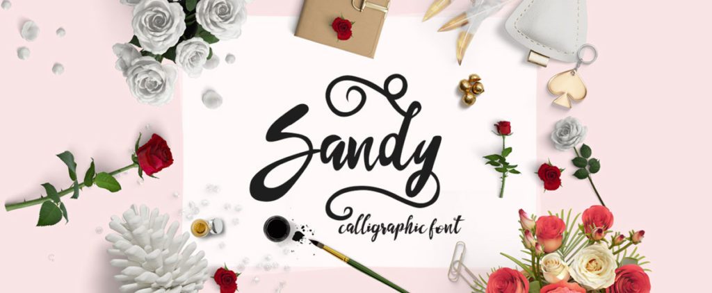 sandy free fonts