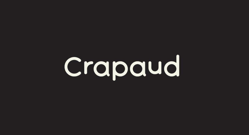 Crapaud-free-font