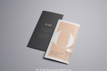 Advanced Trifold Brochure Free PSD Mockup