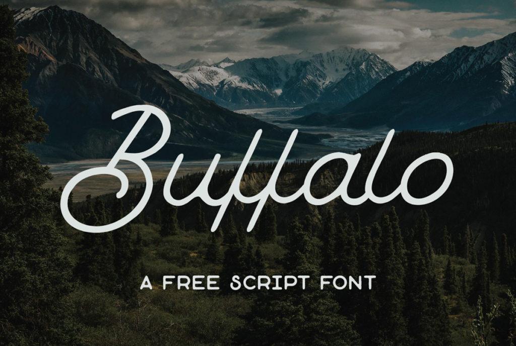 Buffalo Script Free Font
