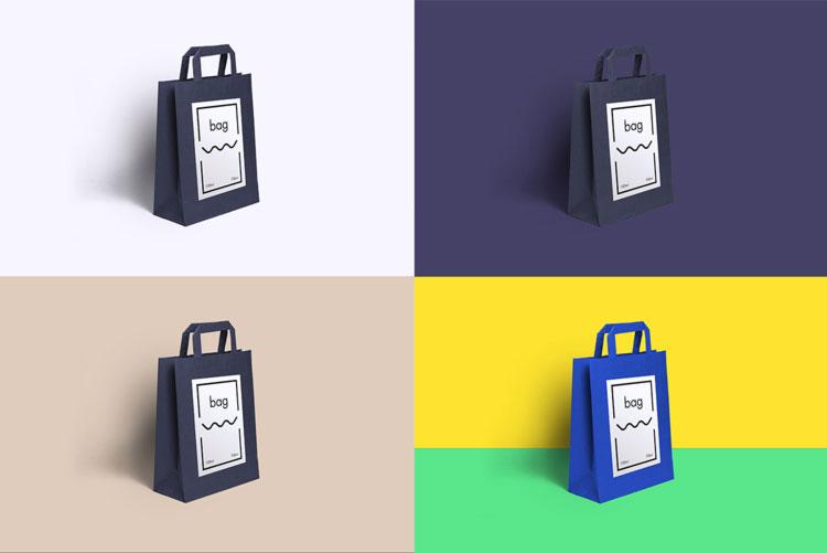 Paper Bag Free Psd Mockup