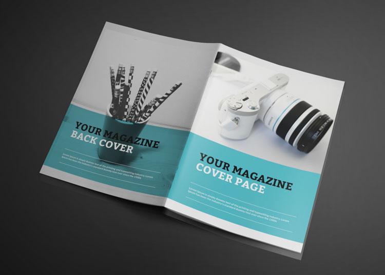 Photorealistic Catalogue Magazine Free Mockup