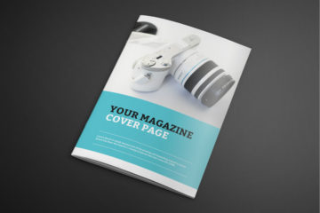 Photorealistic Catalogue Magazine Free Mockup