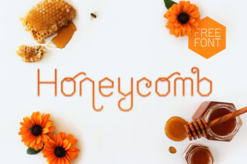Honeycomb Free Display Font