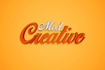 CreativeMod Free PSD Text Effect