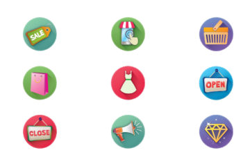 9 Free E-Commerce Icons