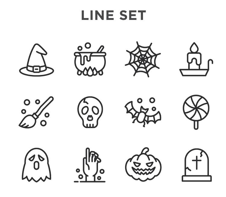 Free Halloween Vector Icons