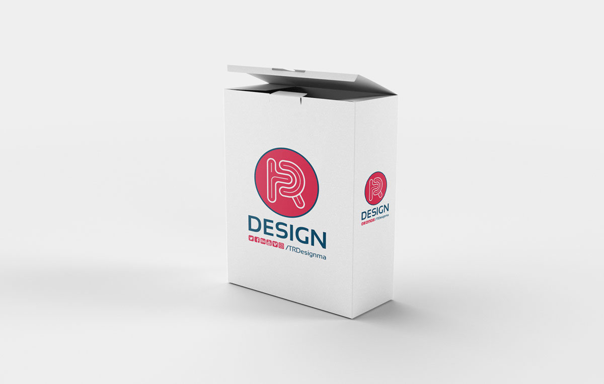 Free Realistic Box Psd Mockup Pixlov
