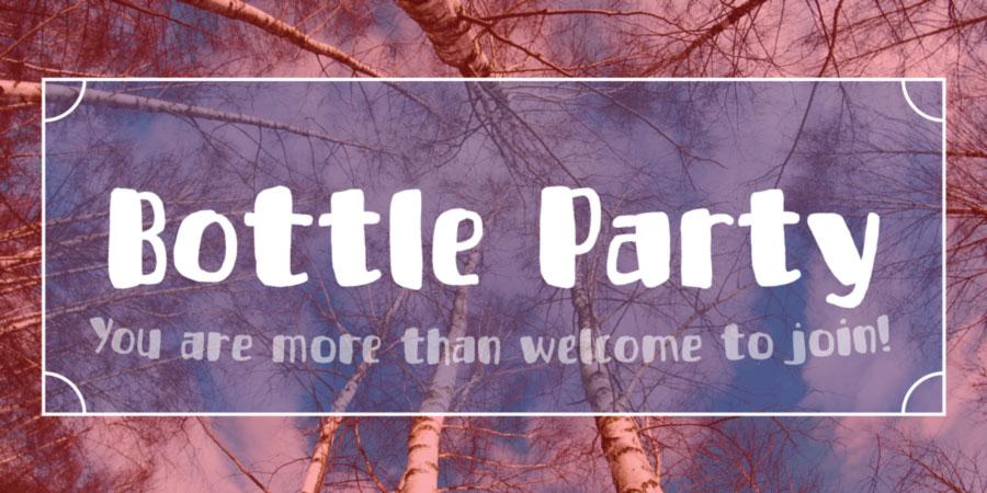 Bottle Party Font Demo