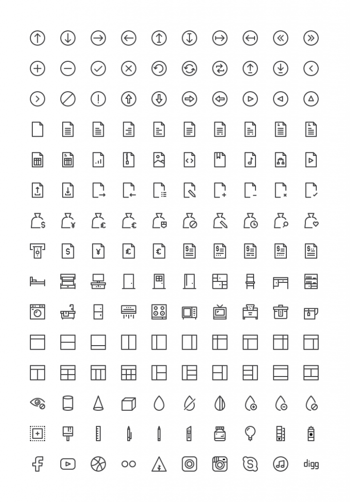 150 Free Material Vector Icons