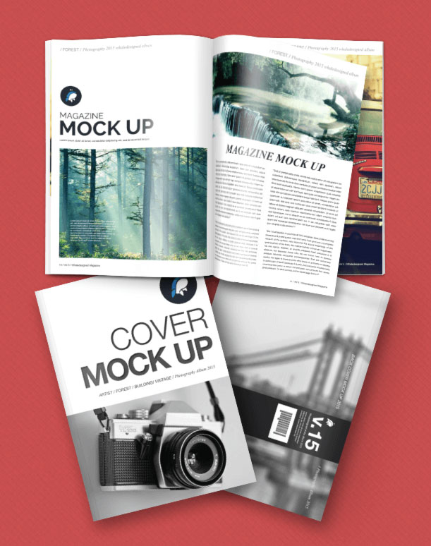 50+ Best Free Magazine and Book Cover PSD Mockup Templates 2017 ...