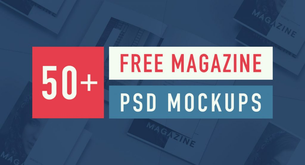 50+ Best Free Magazine and Book Cover PSD Mockup Templates 2018 | Pixlov