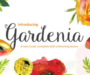 Gardenia Free Script Font