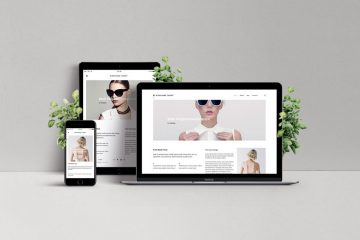 Responsive Web Design Showcase PSD Mockup
