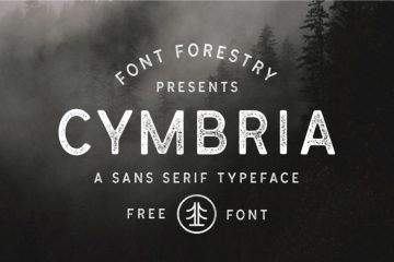 Cymbria Free Rough Font Family