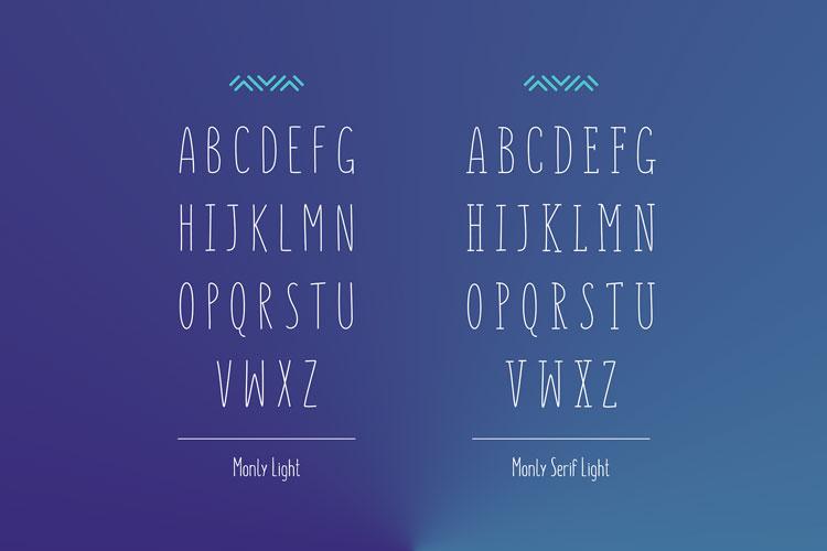 Monly Free Font   Pixlov